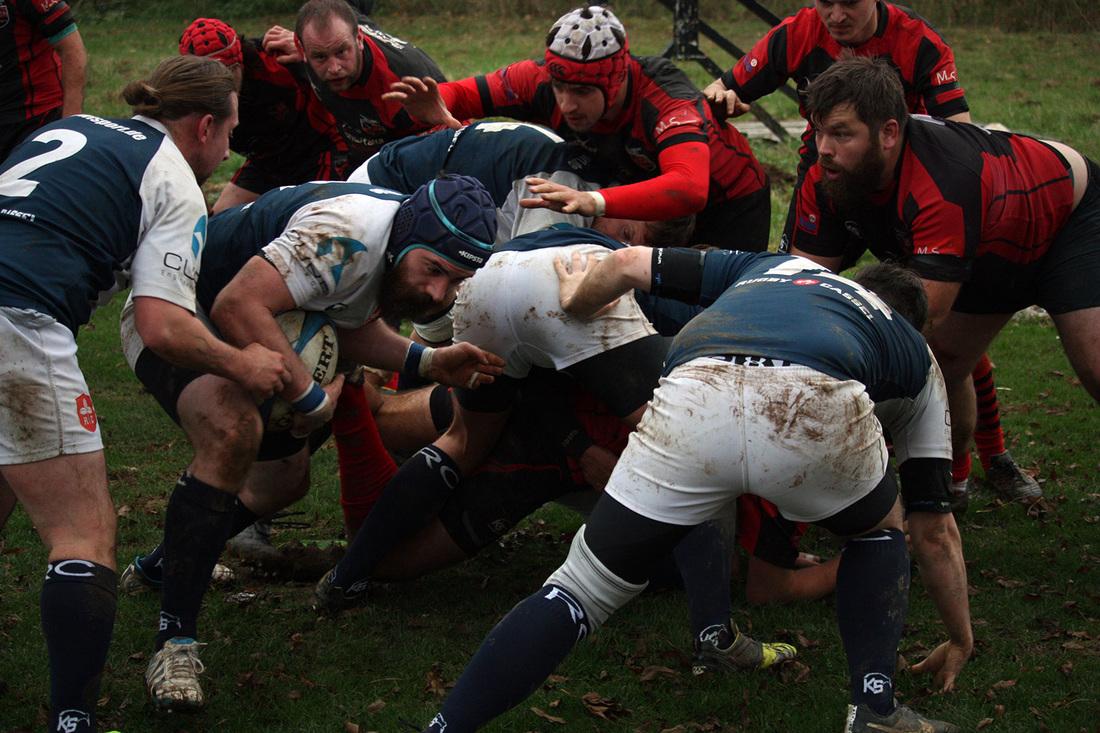 Rugby-Union Marburg besiegt Rugby Cassel zuhause mit 23:0