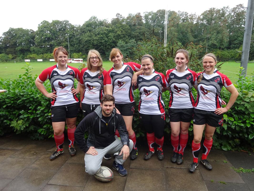 Marburgs Rugby Damen reisen zum Saisonauftakt im 7er Rugby nach Köln