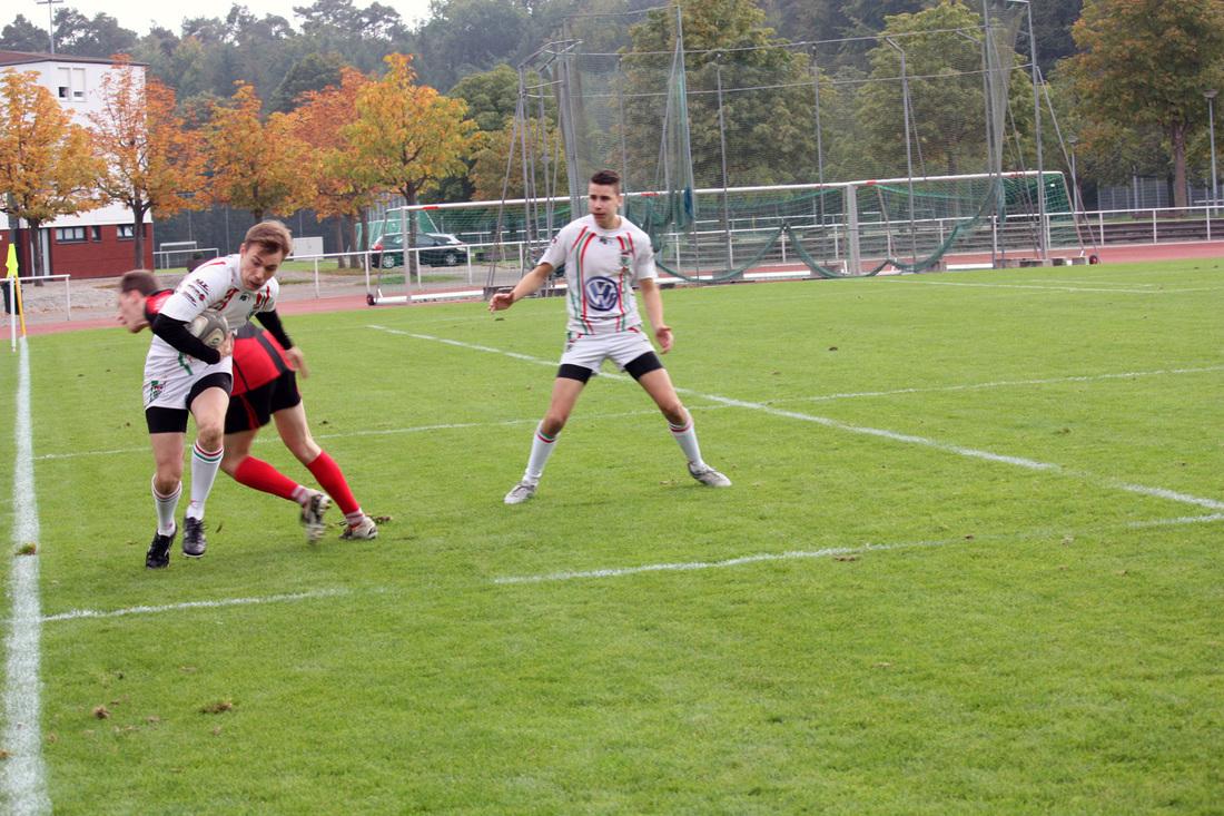 Rugby-Union Marburg unterliegt dem RK Heusenstamm II mit 76:15