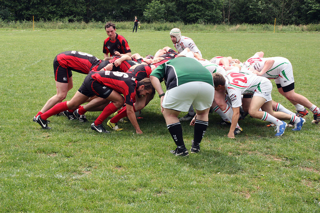 Rugby-Union Marburg gewinnt ihr letztes Spiel der Sasion gegen den RK Heusenstamm II mit 38:12