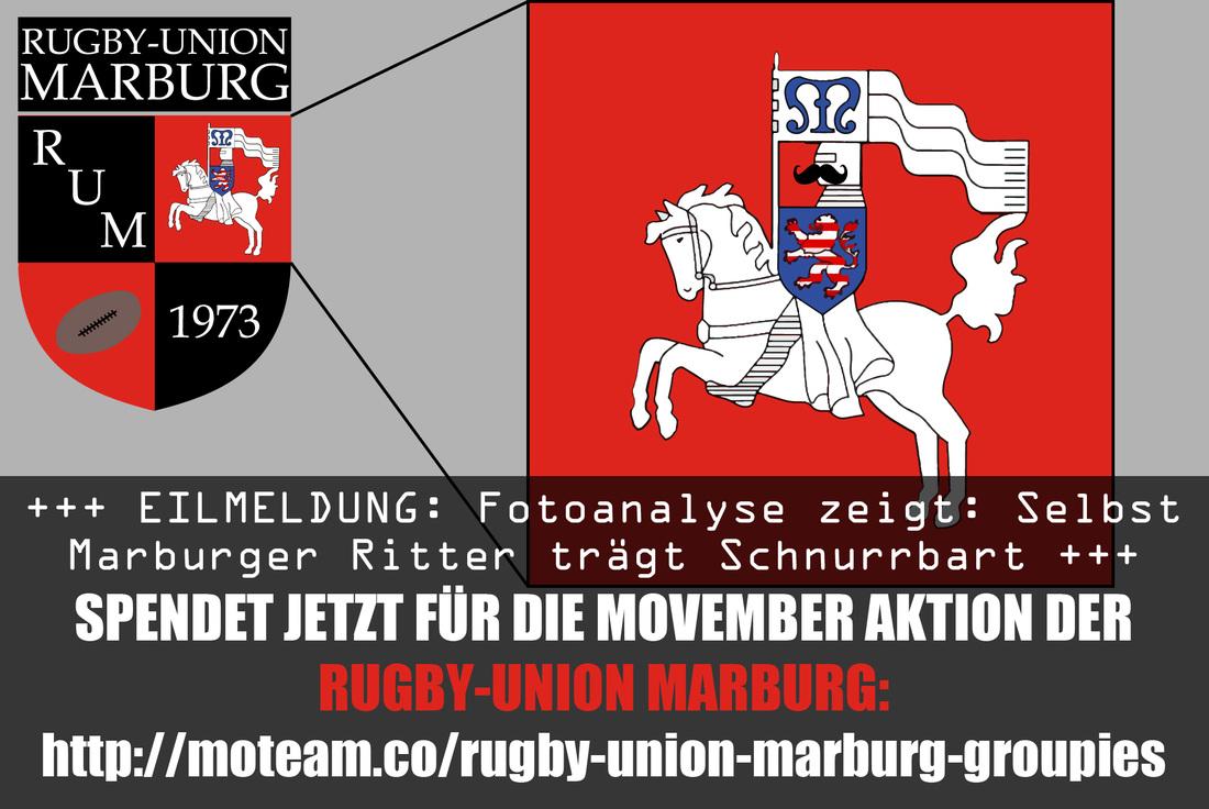 Rugby-Union Marburg sammelt Spenden für Männergesundheit – Der MOVEMBER beginnt