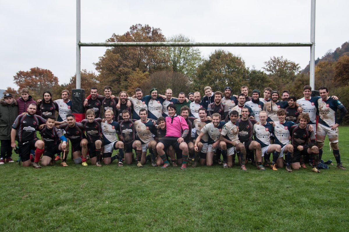 Rugby-Union Marburg schlägt Rugby Cassel und ist Herbstmeister