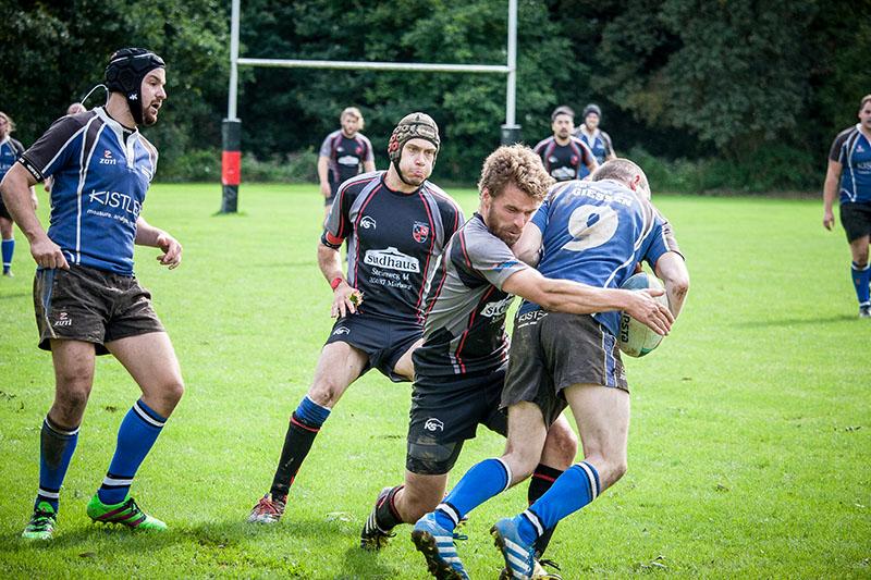 Testspiel: Regionalligist Rugby-Union Marburg verliert knapp gegen 3. Liga Aufsteiger URC Gießen